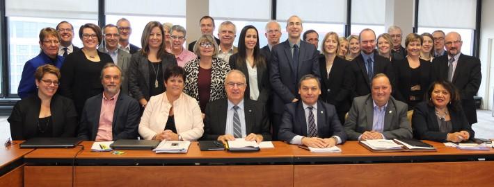 Rencontre du Comité tripartite du 30 novembre et 1er décembre 2016 à Ottawa